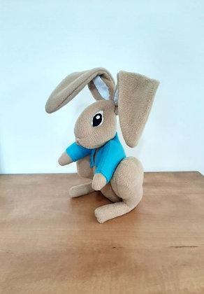 Bunny plush - Stuffed rabbit toy - Bunny soft sculpture - Stuffed toy