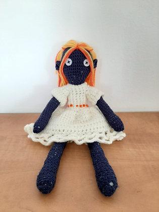 Crochet amigurumi doll - handmade doll - crochet plush doll