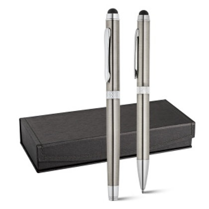 CANNES. Set stylo roller et stylo à bille
