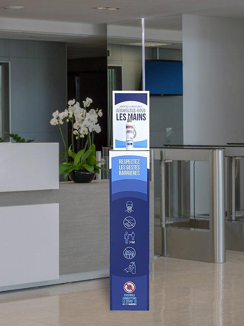 Porte produit sanitaire