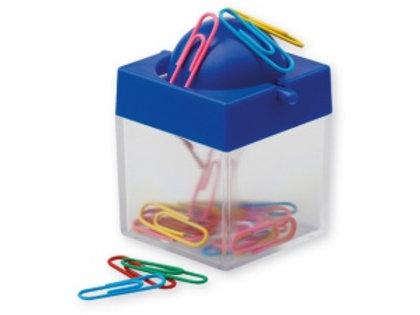 Boîte plastique des trombones