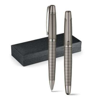 WARHOL. Set stylo roller et stylo à bille