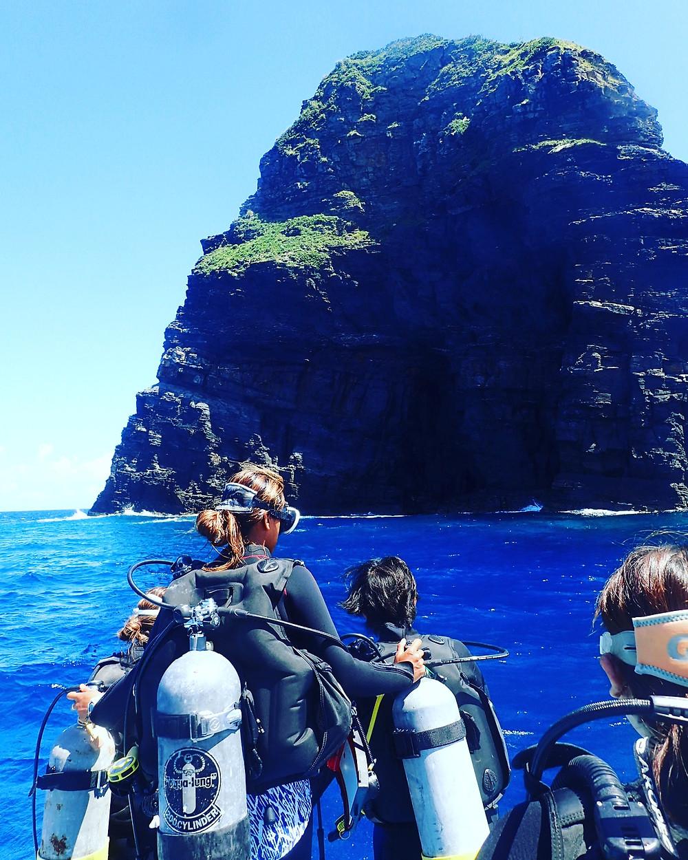 沖縄 慶良間 ケラマ ドリフトダイビング ボートダイビング ファンダイビング