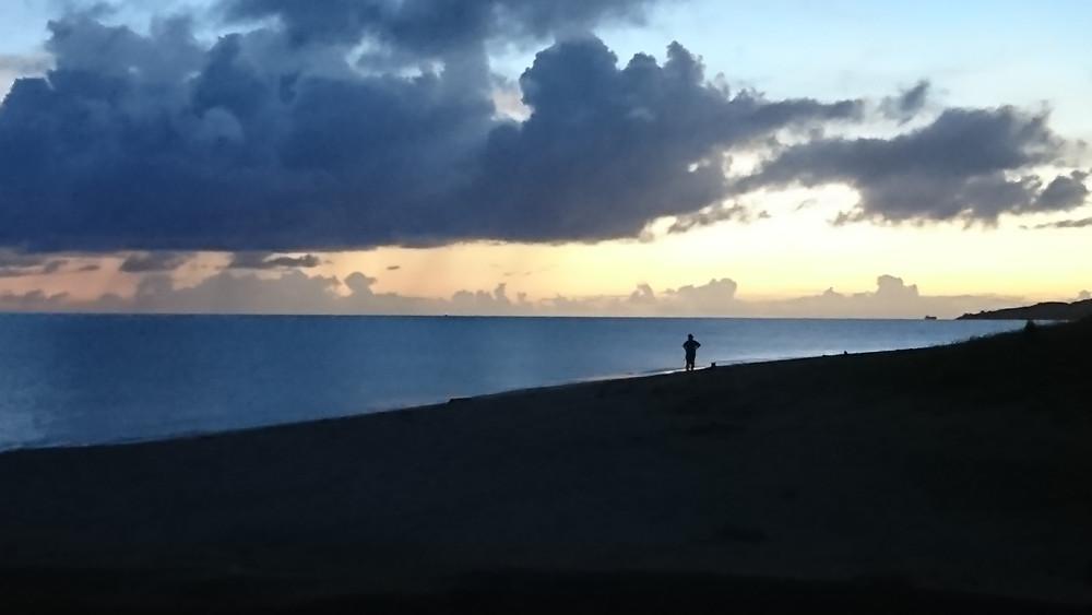 沖縄 名護 水平線 ファンダイビング ダイブコーヴィー