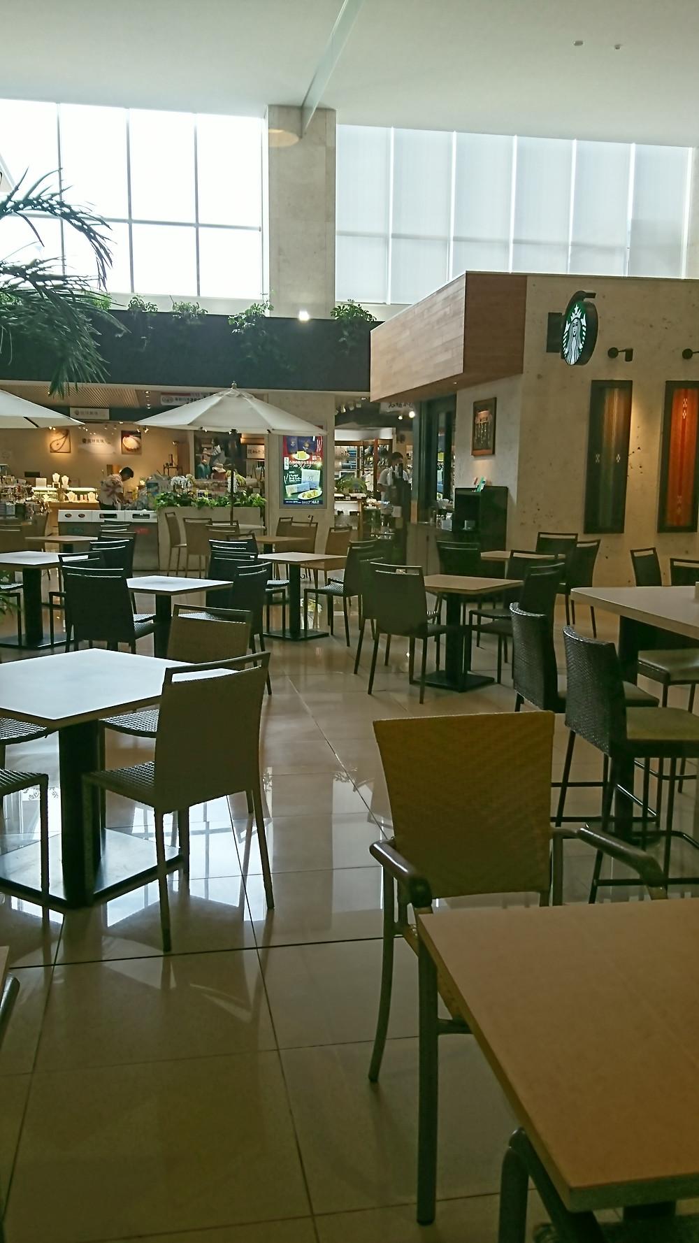 石垣島 離島ダイビング 新石垣空港 スターバックス Starbucks
