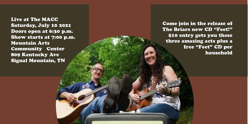 The Briars' Americana Showcase and CD release party for Feet