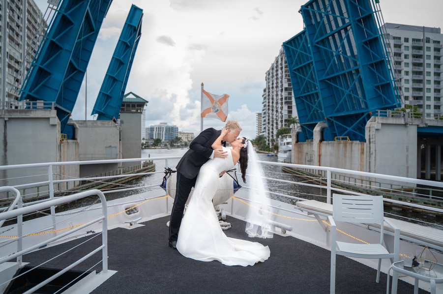 Wedded couple on boat.jpg