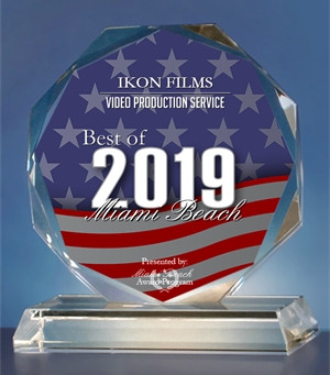 IKON FILMS Receives 2019 Best of Miami Beach Award