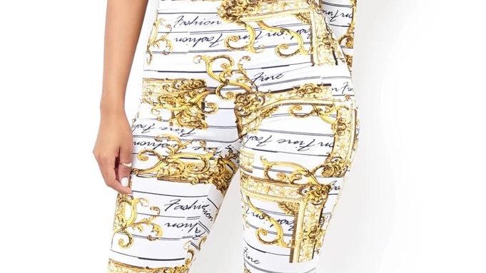 Fine fashion jumpsuit