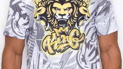 King T shirt with Rhinestones