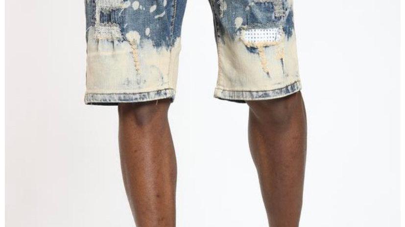 Men's rhinestone shorts
