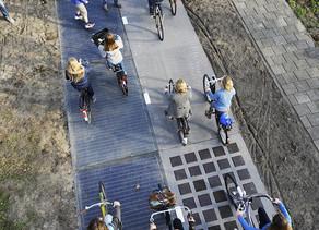 Ciclovia solar holandesa de sucesso