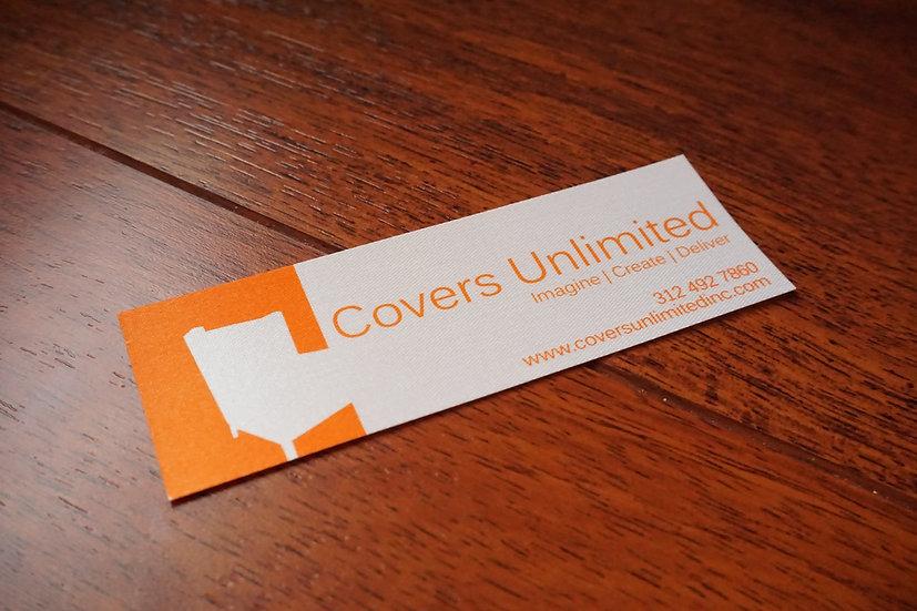 Printed Satin Acetate Deck Label