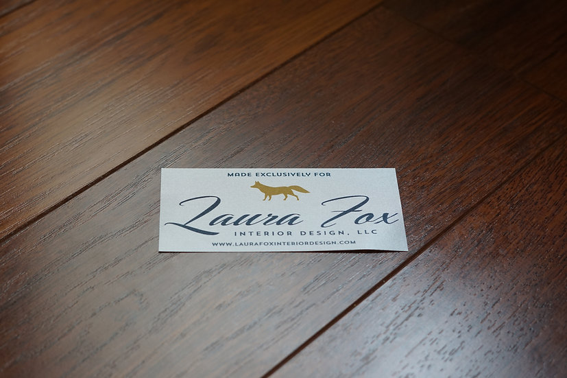 Printed Satin Acetate Deck Label