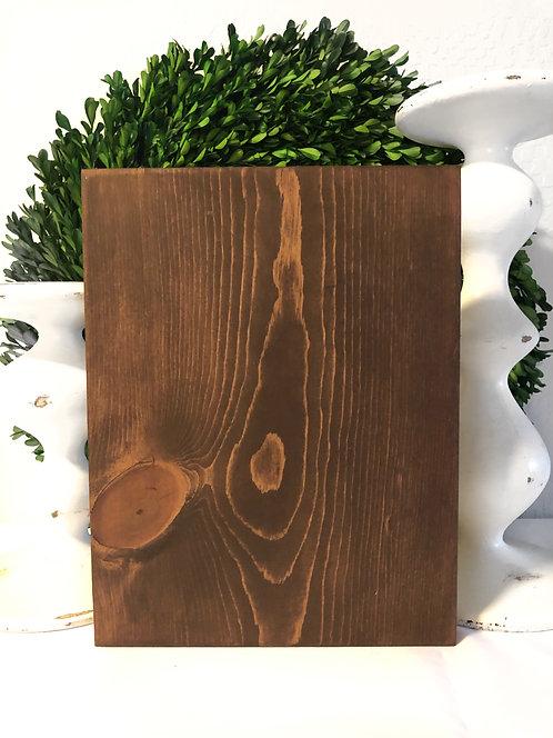 """12""""L x 9 1/3""""W, Custom Wood Sign, Custom Home Decor, Custom Sign, Rustic wood si"""
