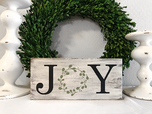 Joy Sign - Christmas Decor