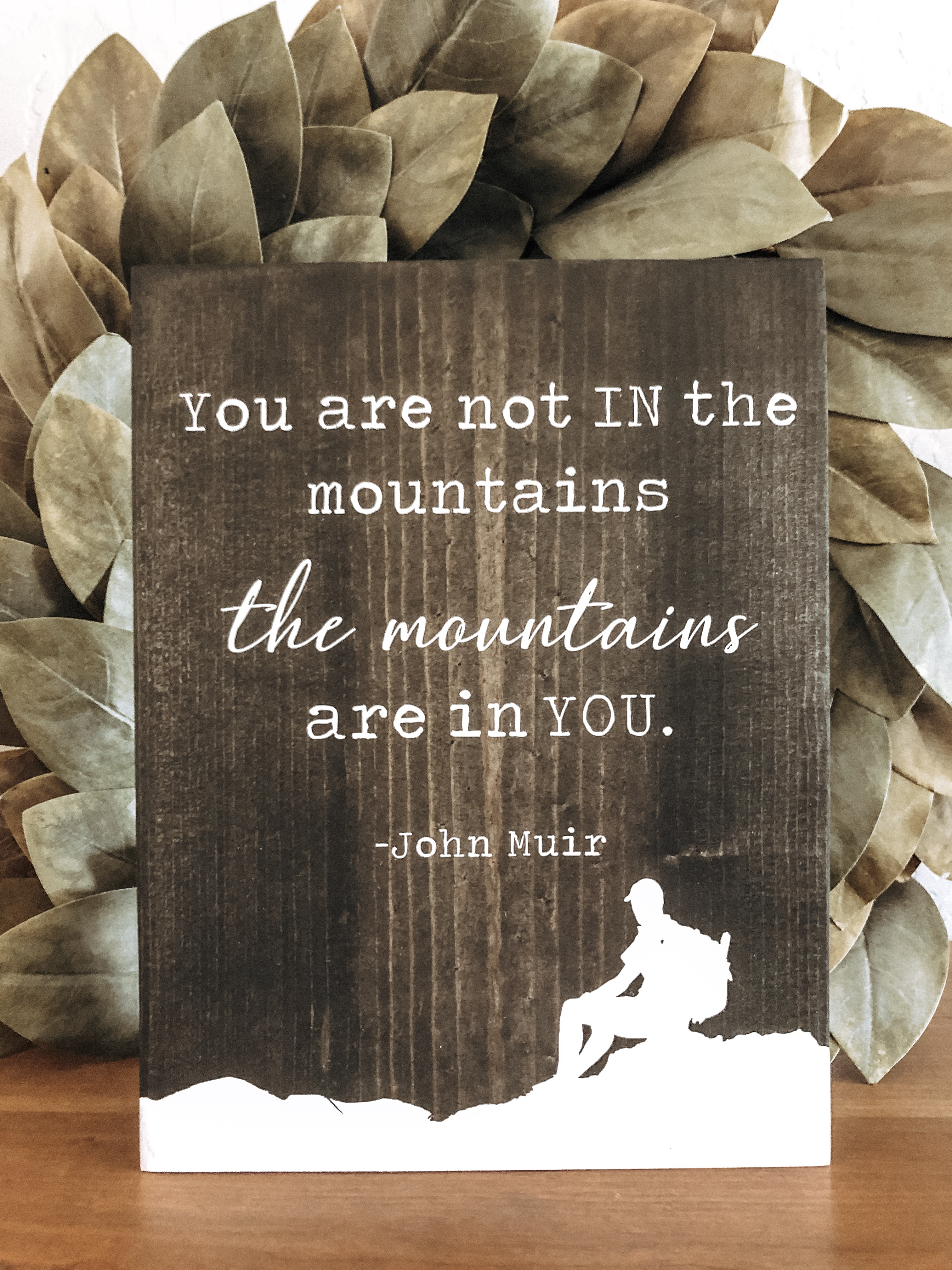You are not in the mountains the mountai