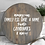 "Thumbnail: 24"" Custom Round Tray - Custom Serving Tray - Custom Round Serving Tray - Rustic"
