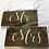 Thumbnail: Mr & Mrs Sign - Wedding Sign - Head Table Signs - Wedding Reception Signs