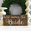 Thumbnail: Here Comes the Bride Sign - Wedding Ceremony Sign - Flower Girl - Ring Bearer