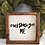 "Thumbnail: 9""L x 8""W Custom Wood Framed Sign, Custom Home Decor, Custom Sign, Rustic"