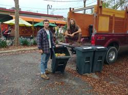 Composting satchels