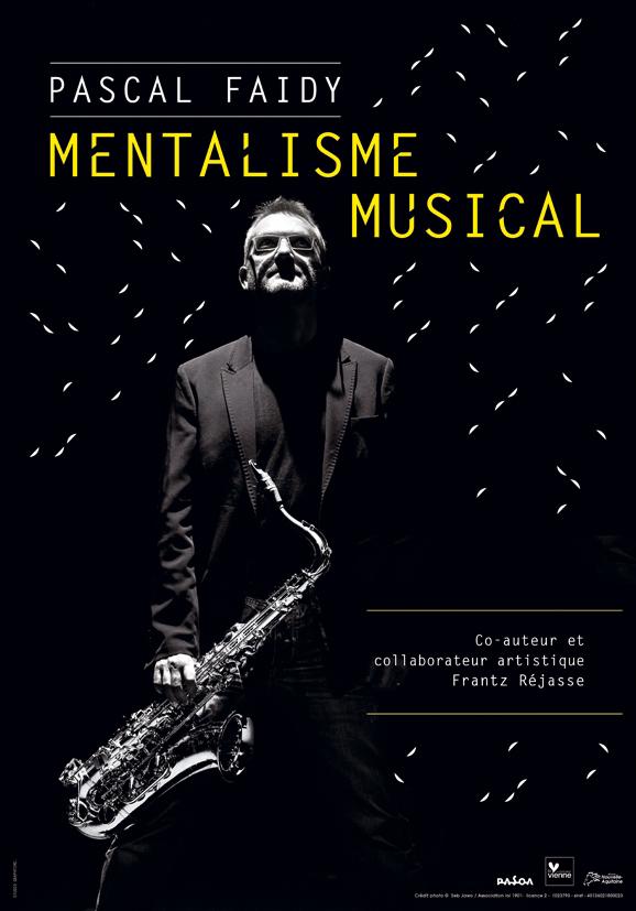 Pascal Faidy dans Mentalisme musical