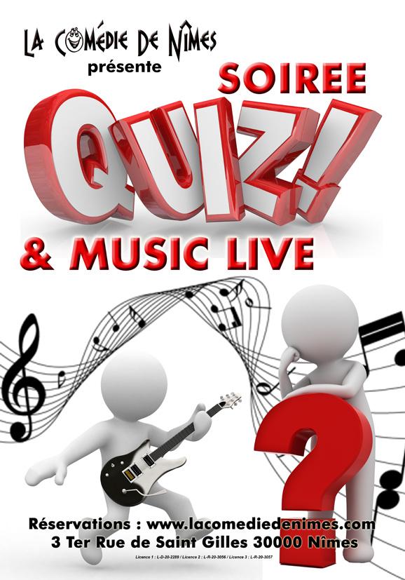 Quiz et music live