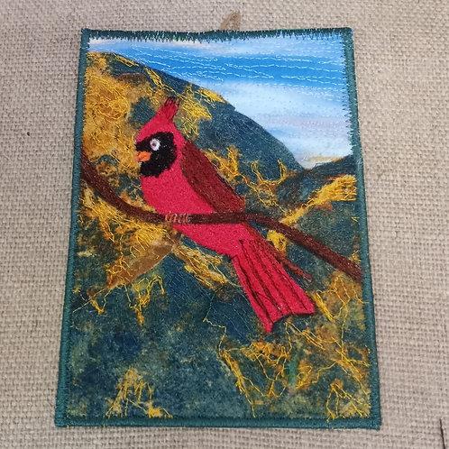 #84 Cardinal in Mountains #1695