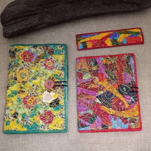 #84 Handmade Fabric Notebooks