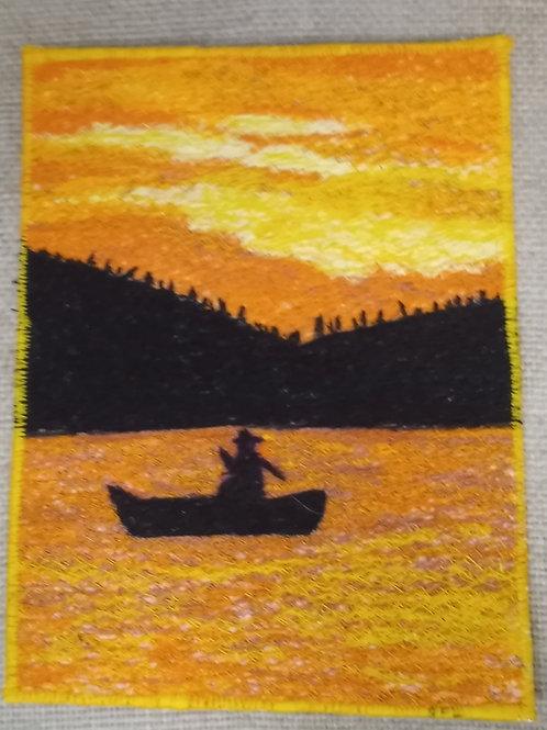 #84 Sunset on the Lake #1632