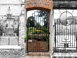 Copper Infill gates