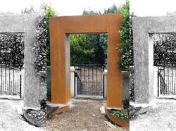 Corten Arch