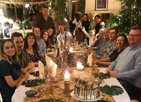 Harveys' birthday celebrations