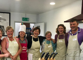 Asian Bbq Cookery Class at The Food Hub, Kenton Hall Estate