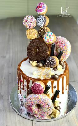 Doughnut Madness Cake