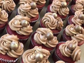 Red velvet malteaser cupcakes