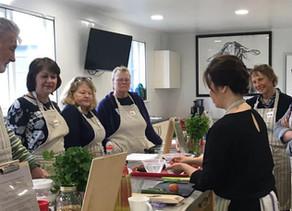 Guest Tutor at The Food Hub Cookery School in Kenton Hall