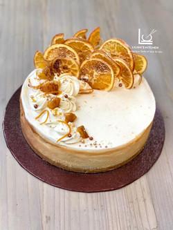Burnt Orange Cheesecake