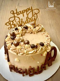 Coffee Cake Singapore 'Kopi Tiam' Coffee Frosting Cake