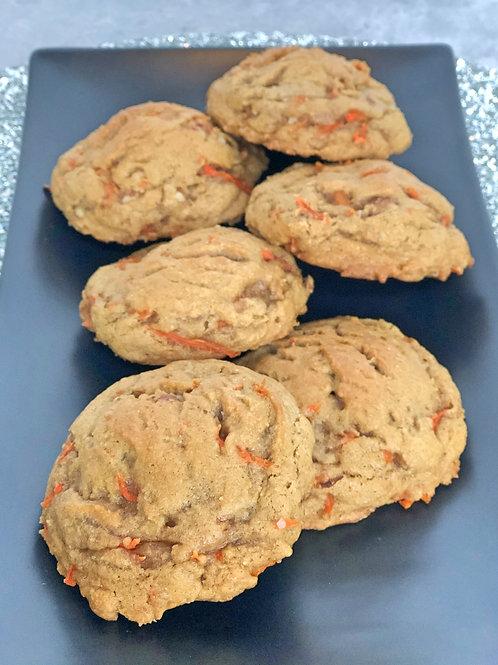 STUFFED Carrot Cake Cookies