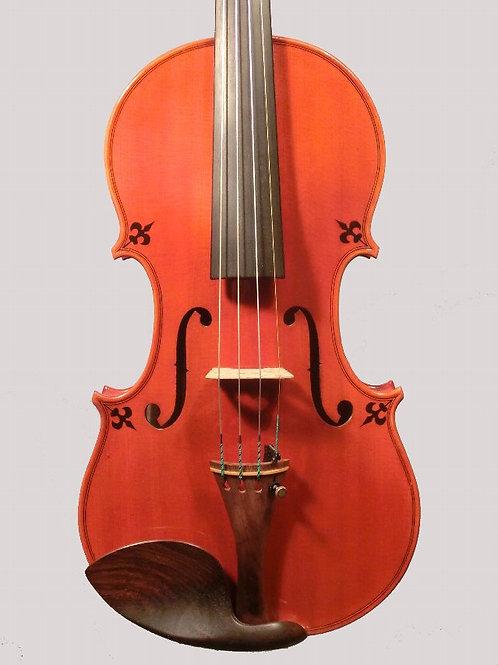装飾バイオリン2015年cremona製