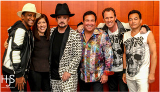 Boy George and original band and Harry Siskind