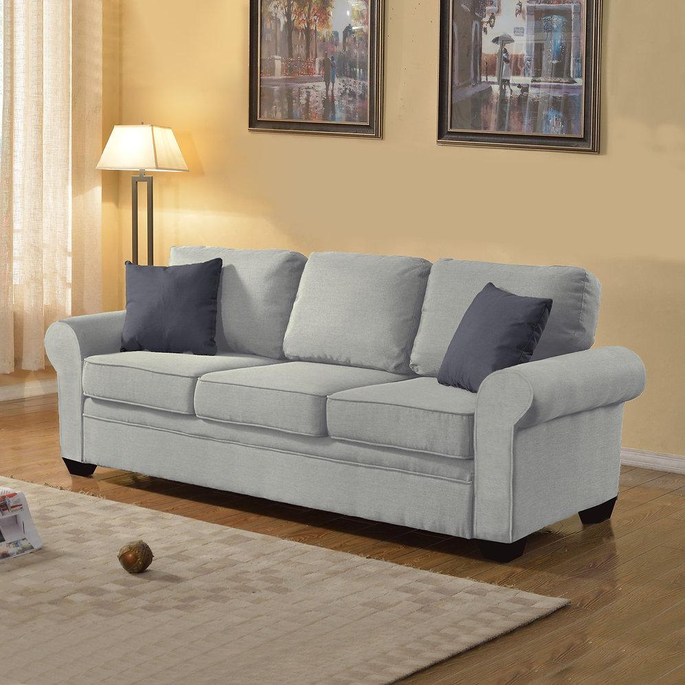 Linen Fabric Sofa   sofamind