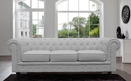 Tufted Velvet Chesterfield Sofa