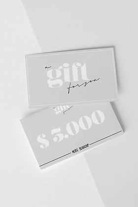 GIFTCARD $3.000