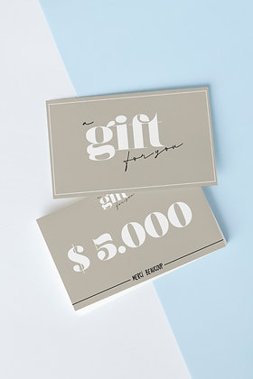 GIFTCARD $5.000