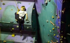 Kid climber