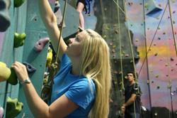 Girl climber