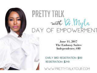 "Dr. Myla Bennett (Board Certified Plastic Surgeon) Presents ""The Pretty Talk Tour"""